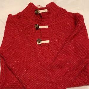 Boys Red sweater Size Medium 8/10